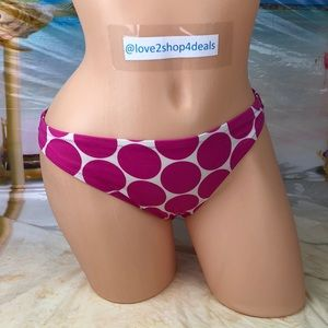 ! Victoria's Secret polka dot bikini swim bottom